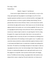 Free writing3.gladwell