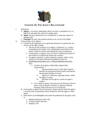 Advanced Business Law Lecture Notes Chapter 35