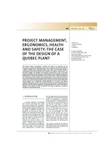 Project Management, Ergonomics, Health and Safety-Case Study