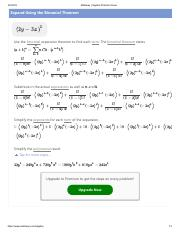 2y-3s)^5.pdf - Mathway | Alge Problem Solver Expand Using ... on