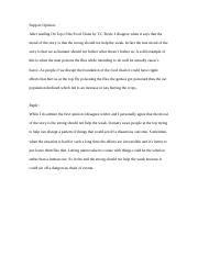 Annotations For Top Of The Food Chain Doc Annotations For Top Of