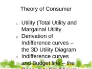 Week 5 Notes Theory of Consumer students