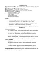 final exam study sheet
