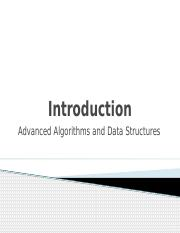 Lesson 1-1 - Defination of Algorithms and Data Structures