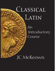 Classical Latin : an introductory course 2010