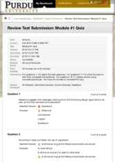 Review Test Submission: Module #1 Quiz – Fall-2014-COM-...