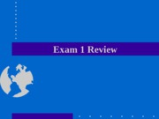 Exam+1+Review