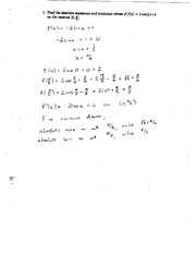 Exam 1 Question 1 Solution