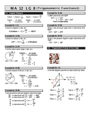 math 12 transformations worksheet 2 solutions m a 12 l g 2 1 6 combinations of transformations. Black Bedroom Furniture Sets. Home Design Ideas