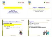Phase 7 Generating IT Requirements