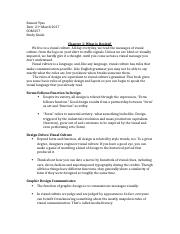Study Guide G&H Chapter 1