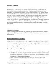 Executive Summary - Executive Summary Hookah Bar is a new hookah ...