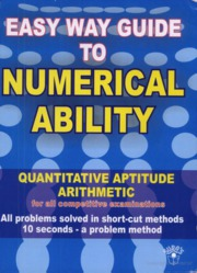 EASY GUIDE TO NUMERICAL APTITUDE(PUBLISHER UPKAR)