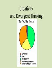 Lecture 13 Creativity.ppt