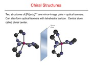 Chiral Structures Slides and Notes