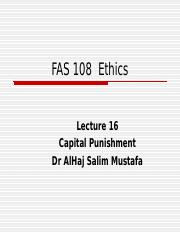 lecture 16 Capital Punishment.ppt