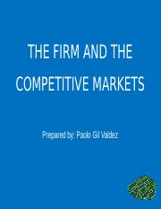 The-Firms-And-The-Competitive-Markets.pptx