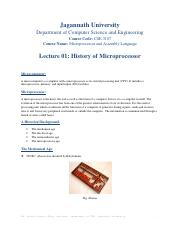 Lecture 01 History of Microprocessor.pdf