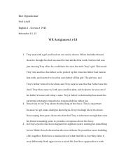 WR Assignment #18.docx