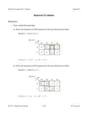 ECE 331 - Spring 2015 - HW6 Solutions