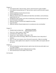 Exam 1 class notes for study guide