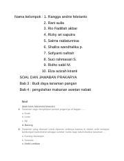 Tugas Prakarya Docx Nama Kelompok 1 Rangga Andrie Febrianto 2 Rani Aulia 3 Rio Fadillah Akbar 4 Rizky Ari Saputra 5 Salma Raidatunnisa 6 Shafira Course Hero