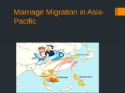Week 8 Marriage Migration in Asia Pacific _Student_