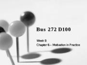 Bus 272 D1 - Week 8 Slides