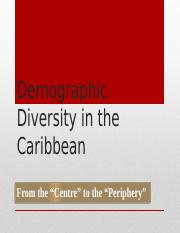Demographic Diversity in the Caribbean.pptx