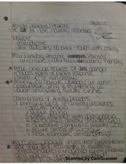 Notes on Anxiety Disorders