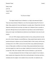 LDS research paper pdf