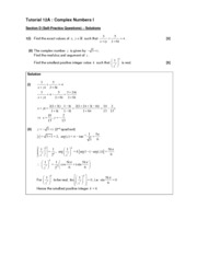 Chap 12A  Complex Numbers I_self-prac solutions
