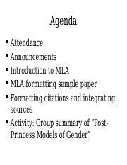 Group Summary and MLA (Day 5)-1