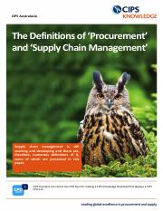 definitions_of_procurement_and_scm