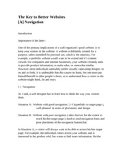 23 - The Key to Better Websites-A Navigation.doc