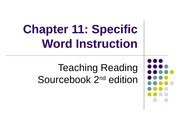 TRS C11_Specific Vocabulary
