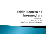13 Eddie Romero as Intermediary