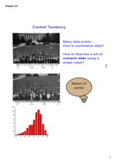 Central tendency lesson