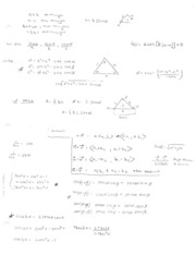 Math 1060 - Equation Sheet