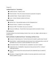 essay questions for tenants