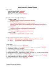Honors Chemistry - 1st Semester Final Exam Practice Test ...