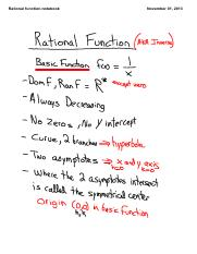 1.4 Rational Function