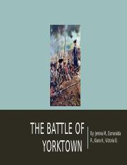 the yorktown battle .pptx