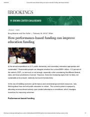 How performance-based funding can improve education funding _ Brookings(JY).pdf