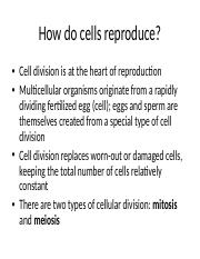 BIO101_Cell Division_8-2.ppt