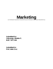 Marketing-channel distribution