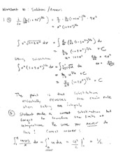 worksheet solutions 10