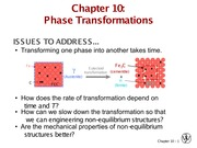 C16 Phase Transformations