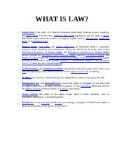 02 WHAT IS LAW.DOC