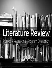 2015_Spring2_Literature Review.pptx